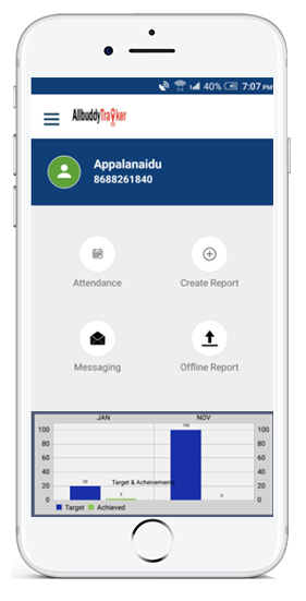 Employee Tracking System | Field Force Tracking App | GPS